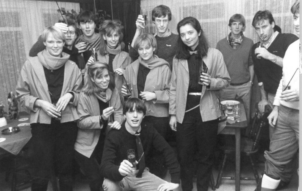 1985 - Oprichters (met enkele Industria leden)